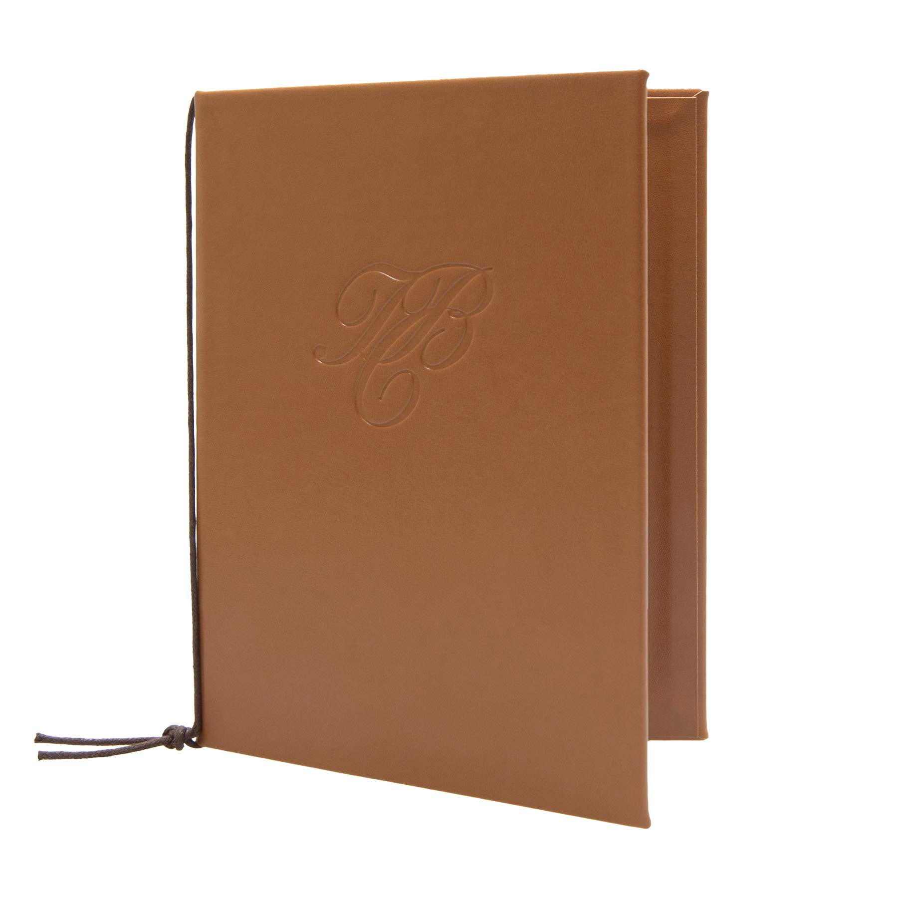 Modern Leather Menu Card With Your Own Logo Bonn Model