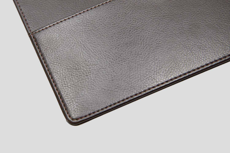 Menu With Leather Ring Binder Model Ringbinder